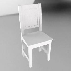 Ashton white chair