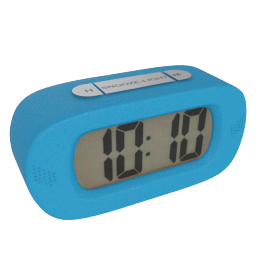 Lucas Table Clock, Blue