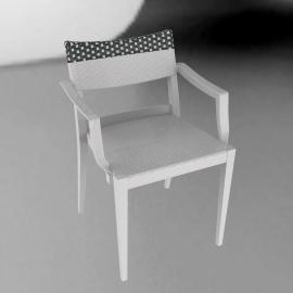 Play Armchair - Chalk/Stone - Chalk