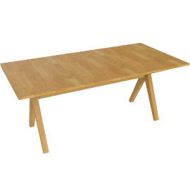 Noah 8 Seater Fixed Top Dining Table