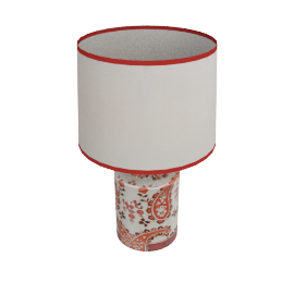 Paisley Canister Table Lamp