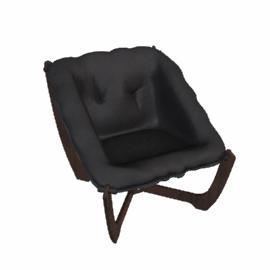 Zest Leather Chair, Havana Brown