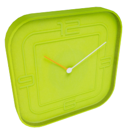 Ben Wall Clock, Green