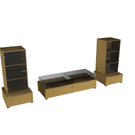 Neo Media Storage Furniture, Combination 4