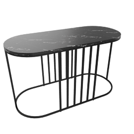 Posea Side Table, Marble