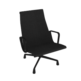 Outdoor Eames® Aluminum Group Lounge Chair - Graphite.Graphite