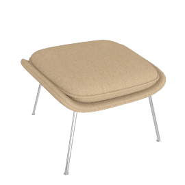 Womb™ Ottoman - Classic Boucle - Flax