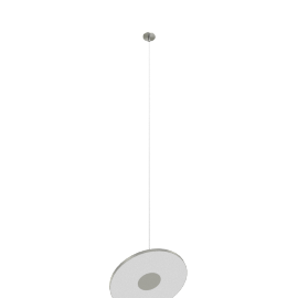 Circa LED 12'' Pendant, Graphite