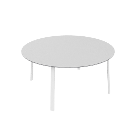 Stack Dining Table, White