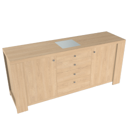 Strata Sideboard, Maple