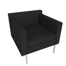 Theatre Armchair, Maharam Mode Fabric, Terra