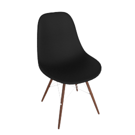 Eames® Molded Plastic Dowel Leg Side Chair-DSW