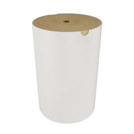 White Bamboo Linen Bin