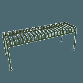 Palissade Bench, Olive