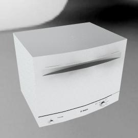 Bosch SKS40E02GB Compact Dishwasher, White