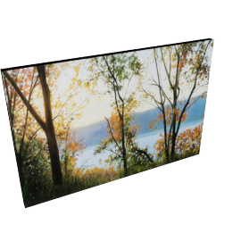 Autumn Stream Picture Frame - 24x35 inches