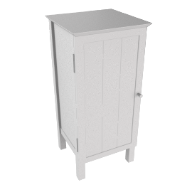 St Ives Towel Cupboard, White