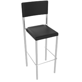 Montana Bar Chair, Black