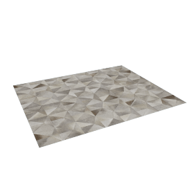 Diamond Cowhide Rug 8x10