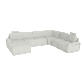 Alfred Corner Sofa Left, Cream