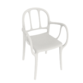 Mila Chair, White