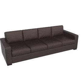 Portola Sofa - 102 in. Leather