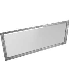 Shayma Bevell Mirror, Silver