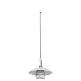 Louis Poulsen PH 3/2 Pendant, chrome