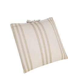 Herringbone Cushion, Cream/Putty