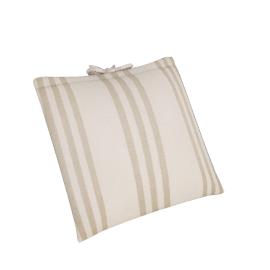 Herringbone Cushion, Cream/Putty