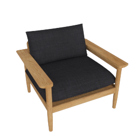 Terassi Lounge Chair, Char