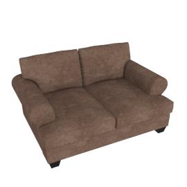 Brooke 2-seater Sofa, Brown