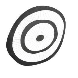 Spindle Wheel Wall Decor