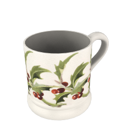 Emma Bridgewater Winter Flowers Holly Mug