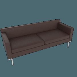 Theatre Sofa, Vienna Leather, Stout