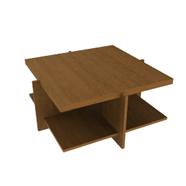 623 LEWIS COFFEE TABLES, Small