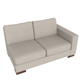 Signature 2 Seater With Right Arm, Sand