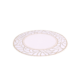 Minerva Placemats, Cream / Gold, Dia.20cm