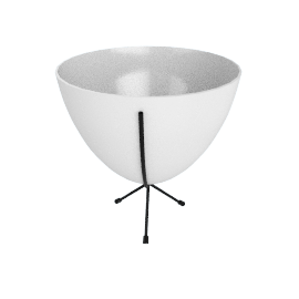 Mini Bullet Planter, White