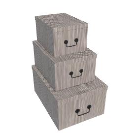 Ella Doran Pinstripe Storage Box
