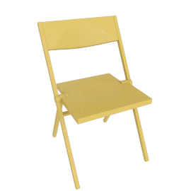 Piana Folding Chair - Yellow