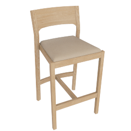 Profile Counter Stool, Oak
