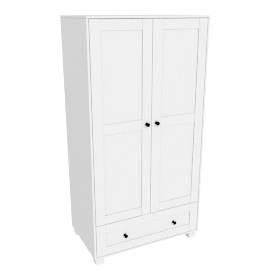 Little Darling'S 2 Door Wardrobe