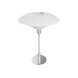 PH 3/2 Table Lamp, Chrome