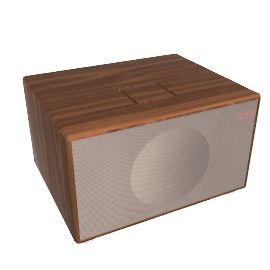 Geneva Sound System, Large - Walnut -