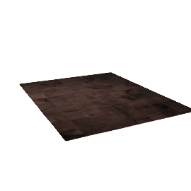 Patch Cowhide Rug - Dark.Brown