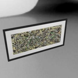 Jackson Pollock - Lucifer Framed Print, 56 x 113cm