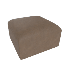 Juno modular - Ottoman, Columnbus Brown Leather