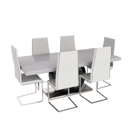 Bently 6-seater Dining Set