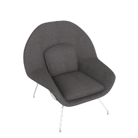 Womb™ Chair - Cato - Grey